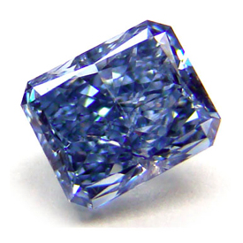 Radiant Cut Blue Diamond